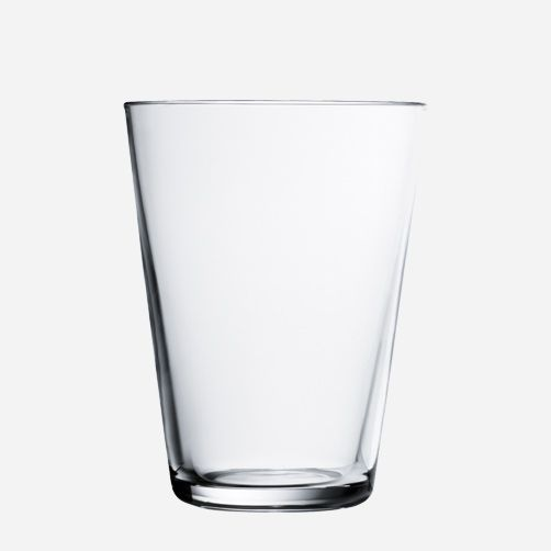 KARTIO large glass - Designer: Kaj Franck ... (they changed the angle of the glass in the early 2000s.) Maker: iittala