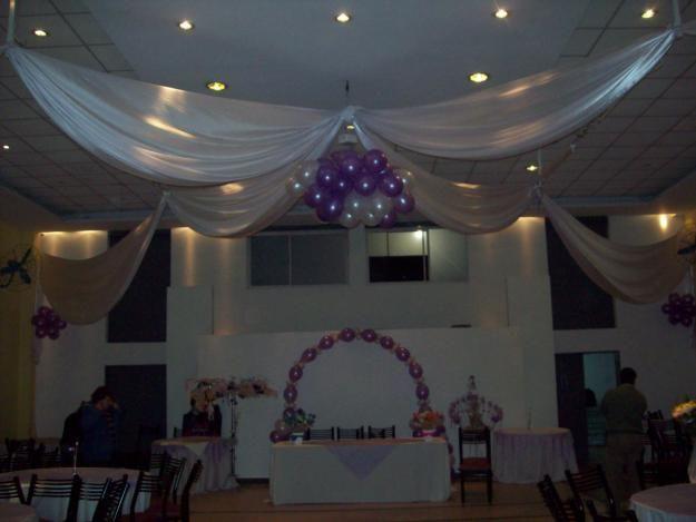 Decoración con telas para fiestas infantiles - Imagui
