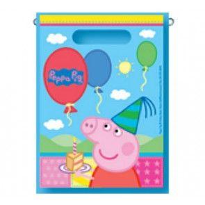 Peppa Pig Loot Bags (8 pc)