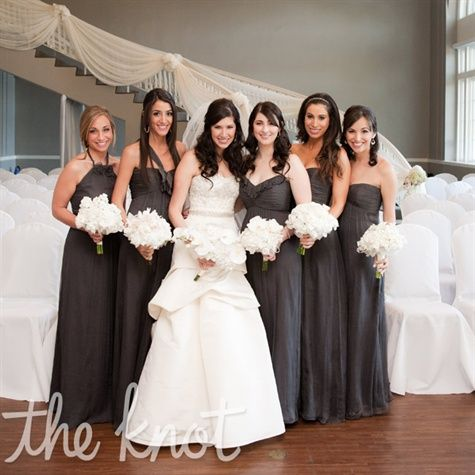17 best images about bridesmaid dresses on pinterest red for Charcoal dresses for weddings