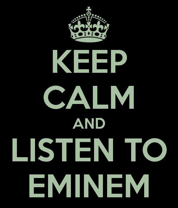 I've got this down so much. Eminem = Lyrical Genius