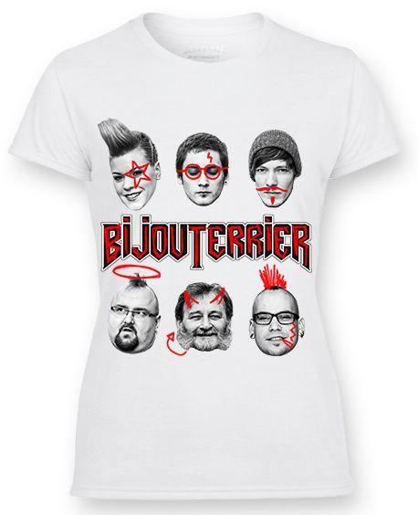 Dámske tričko BijouTerrier - Rebels