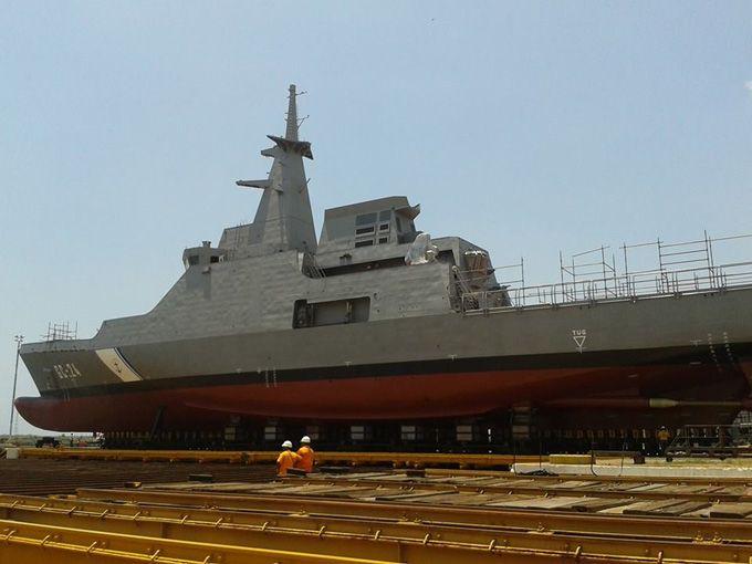 Construcción del buque de vigilancia Hugo Chávez presenta 84% de avance