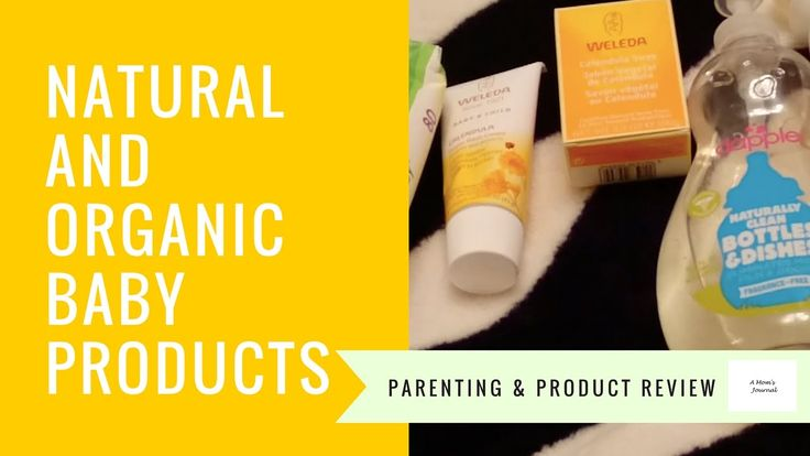 Organic and Natural Products for Baby - Aleva Naturals, Weleda and Dapple