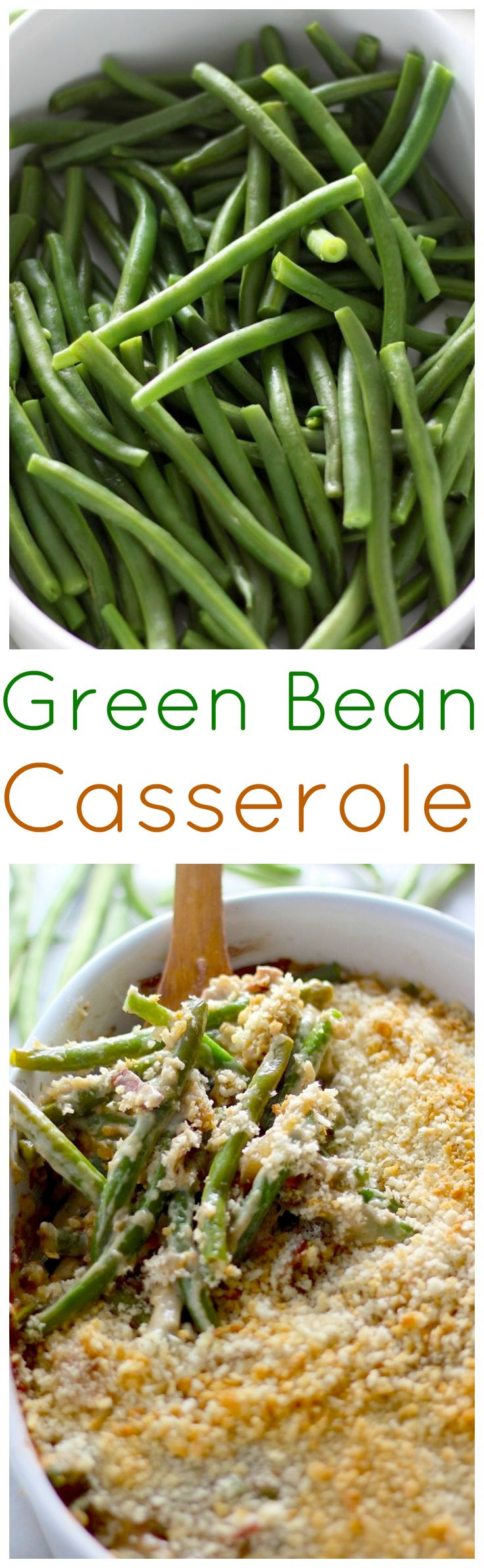 Loaded with bacon, gruyere cheese, and caramelized onions. This is the best green bean casserole ever!