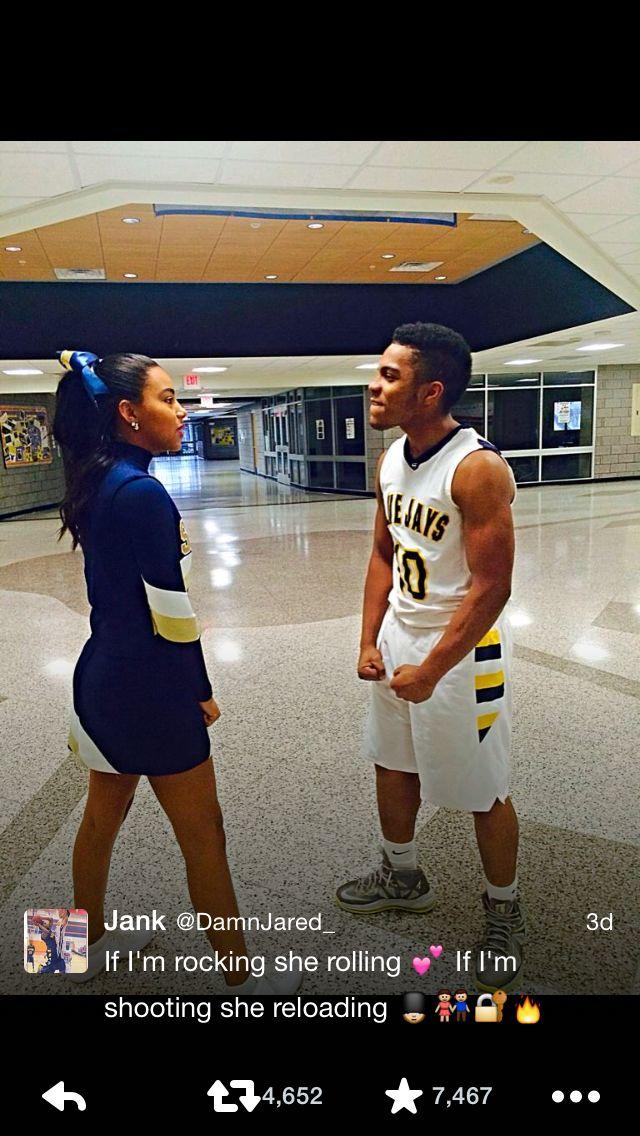 Cute! Couple! High school love!