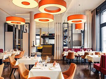 Restaurant, café and bar at the Mercure Hotel Heilbronn hotel in HEILBRONN