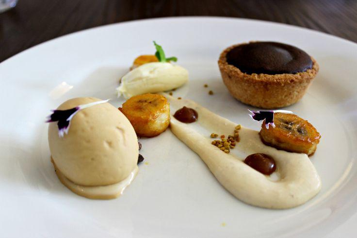 dessert chocolate gelato loop restaurant auckland food chocolate fondant tart
