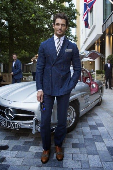 David Gandy Attends GQ Style Party  http://www.davidjamesgandy.com/2014/06/david-gandy-attends-gq-style-party.html