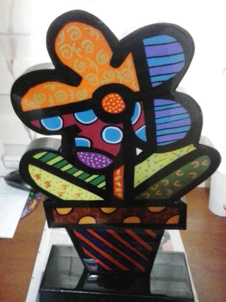 Escultura flor