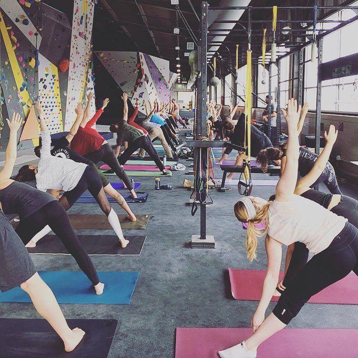 Yoga Pittsburgh Rock Climbing Gym Free Yoga Yoga