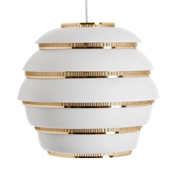 Aalto A331 Beehive ceiling lamp by Alvar Aalto.