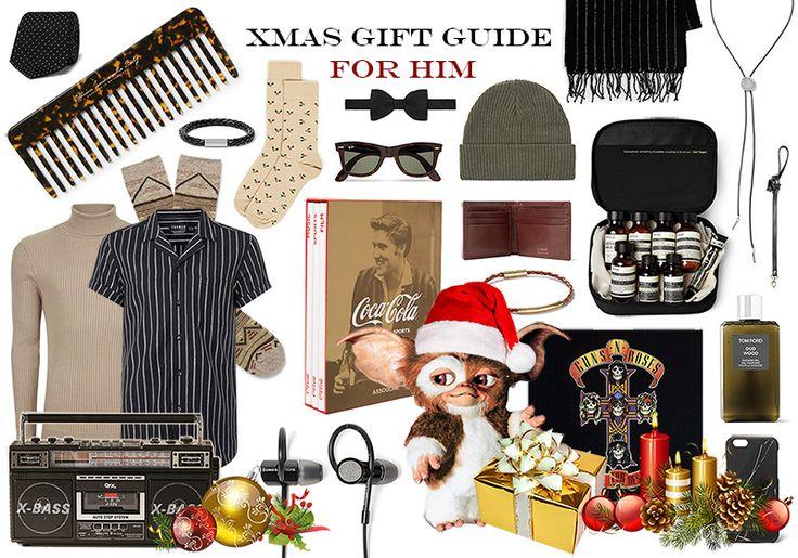 THE FASHION SUNDAE: Xmas Gift Guide For Him