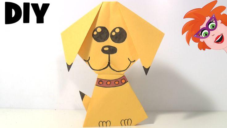 Ik laat je in het filmpje zien hoe je een origami hondje kan vouwen van papier. Door het te tekenen maak je het nog veel leuker. Ik ben alleen vergeten je te...