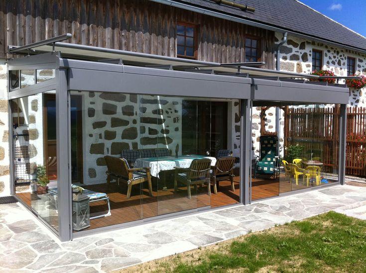 Die besten 25+ Windschutz glas Ideen auf Pinterest Terrassendach - trennwand garten glas
