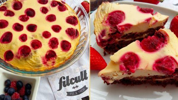 Chutný koláč plný malin, který přijde vhod ať už na snídani nebo jako odpolední dobrota.