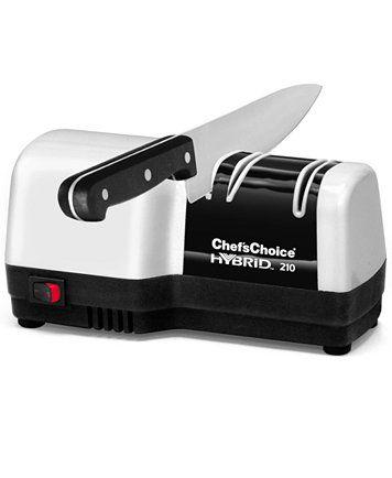 Edgecraft Chef's Choice Electric M210 Knife Sharpener, Hybrid Diamond Hone | macys.com