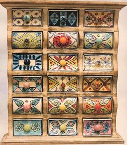 Indian Spice box as jewelry box