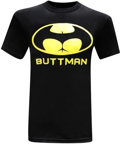 Buttman Men's Funny T-Shirt: so crude, and yet so funny!