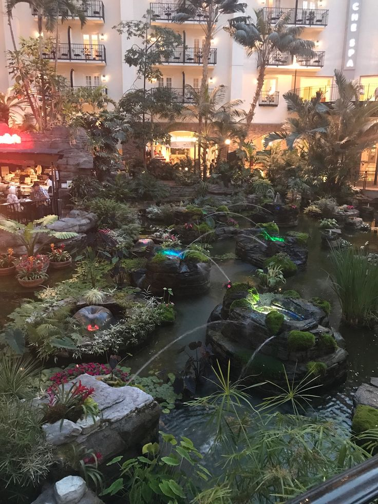 The Gaylord Opryland Hotel and Resort is a gorgeous vacation spot that has beautiful fountains. I really enjoyed my stay in Nashville, TN!