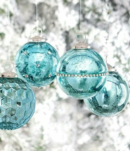 I'll have a Tiffany Blue Christmas without you!