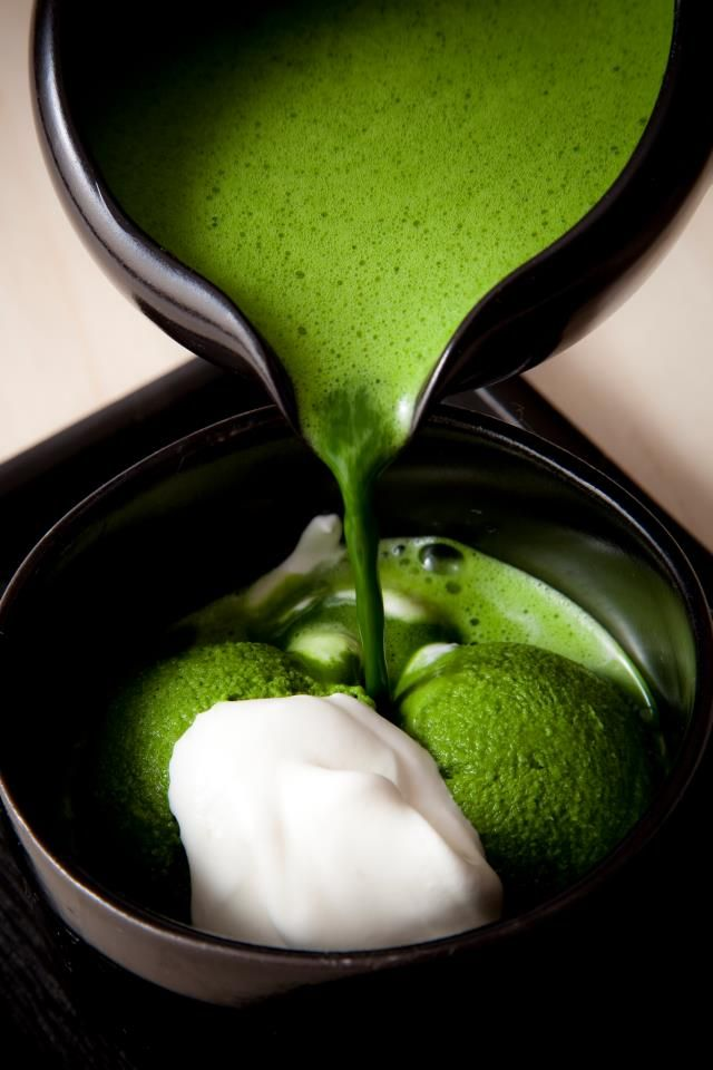 Japanese Matcha ice cream