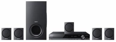 Sony TZ135 - HDMI®, BRAVIA® Sync, USB, 5.1-kanałowy dźwięk przestrzenny, 350W, radio FM. http://www.sony.pl/product/hcs-surround-kit---dvd-player/dav-tz135