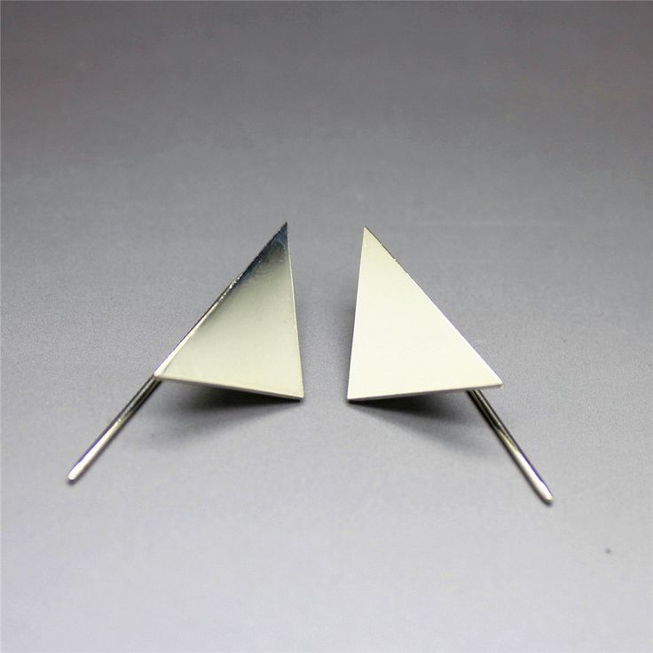 Aliexpress.com : Buy Free shipping Fashion jewelrySimple high end exquisite geometric triangle stud earringsDesigner jewelry factory from Reliable jewelry font suppliers on ENZE Factory (Qingdao) Store