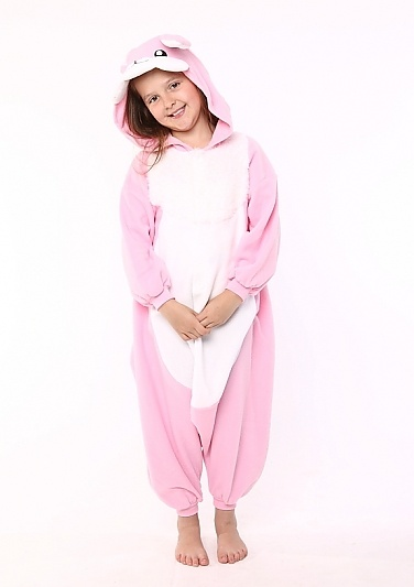 Bunny Kids Animal Onesie Costume
