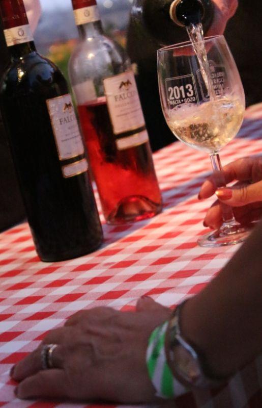 The unique Maltese Falcon wines are up for tasting.