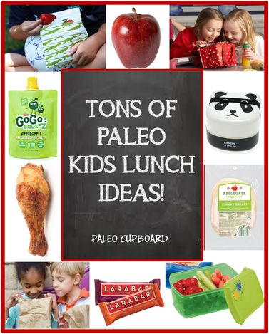Paleo School Lunch Ideas - PaleoCupboard.com