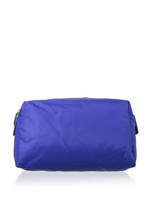 32% OFF co-lab by Christopher Kon Women's Large Nylon Cosmetic Bag, Cobalt