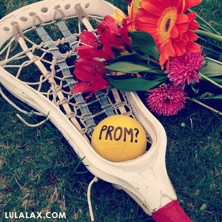 What would YOU say, lax girls? #lacrosse #prom #love