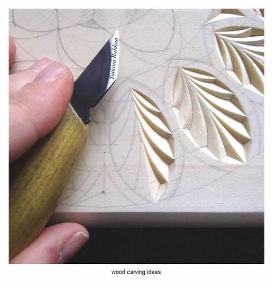 Wood carving pattern for beginner ideas
