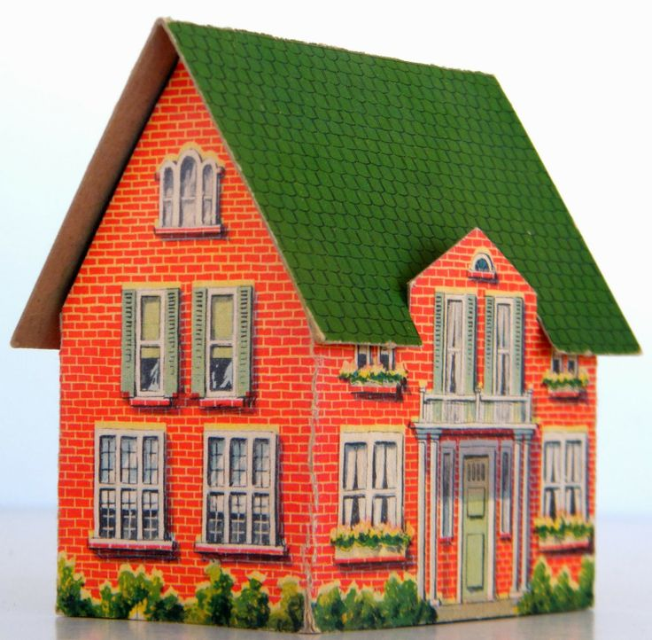 Diy Miniature Doll House Flat Packed Cardboard Kit Mini: 1000+ Images About Cardboard (doll) Houses On Pinterest