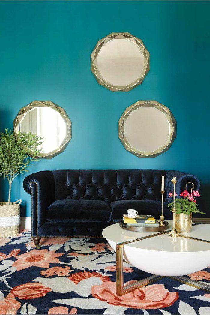 Die Besten 25+ Wandspiegel Rund Ideen Auf Pinterest Wohnzimmer   Deko  Wandspiegel Wohnzimmer