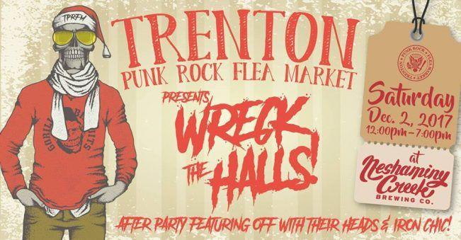 Sat 12/2, Trenton, NJ: STRAIGHT EDGE / NYHC Author Tony Rettman Wrecks the Halls at the Trenton Punk Rock Flea Market - http://blog.bazillionpoints.com/2017/11/27/sat-12-2-trenton-nj-straight-edge-nyhc-author-tony-rettman-wrecks-the-halls-at-the-trenton-punk-rock-flea-market/