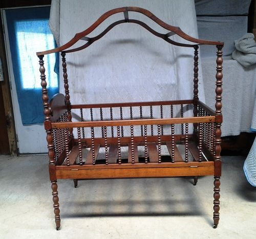 Victorian Youth Bed : Best ideas about victorian cribs on