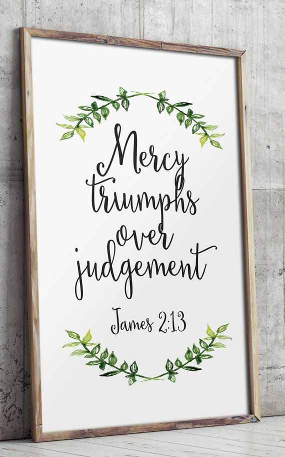 Printable scripture Bible verse wall art by TwoBrushesDesigns