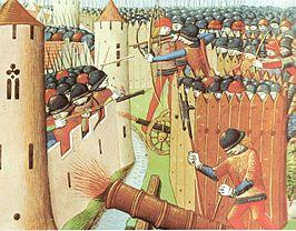 1337-1453 Honderdjarige Oorlog tussen Engeland en Frankrijk om Franse troonopvolging
