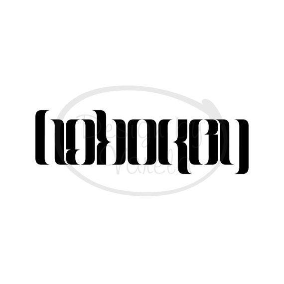 Interactive Magazine: Ambigram Tattoos Design