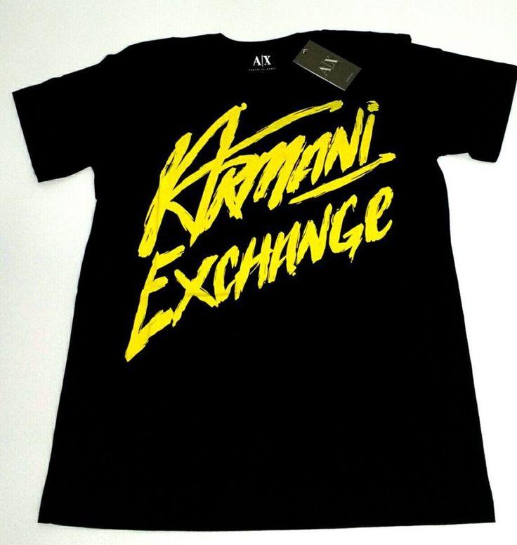 Camiseta Armani Exchange Gold