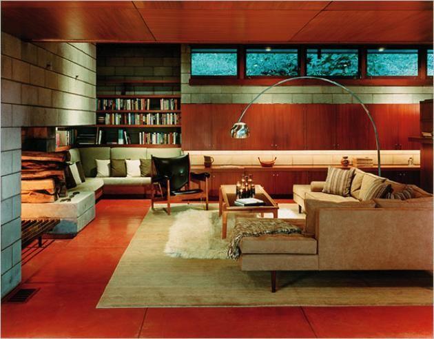 Luis Marden House. 1959. McLean, Virginia. Usonian Style. Frank Lloyd Wright.