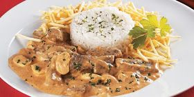 Chef Dopp's Cookbook: Estrogonofe de Carne (Brazilian Beef Stroganoff) can substitute chicken for beef