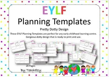 Early Years Learning Framework Planners