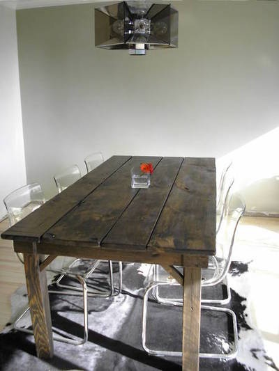 My Reclaimed Wood Table