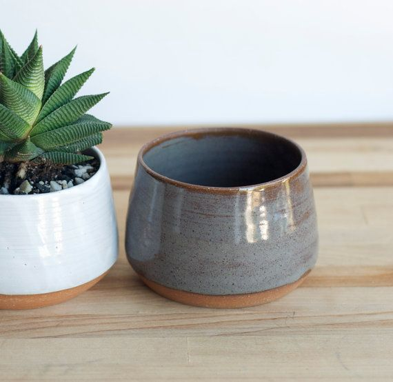 Hey, I found this really awesome Etsy listing at https://www.etsy.com/listing/267803121/handmade-ceramic-planters-pottery