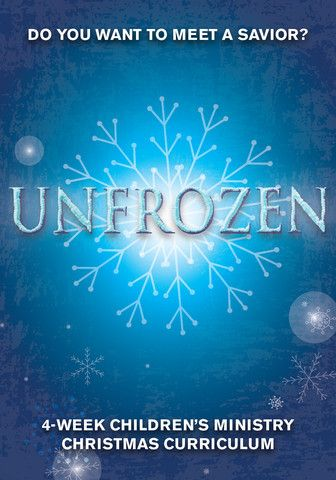 Unfrozen Children's Ministry Christmas Curriculum http://www.childrens-ministry-deals.com/products/unfrozen-4-week-children-s-ministry-christmas-curriculum