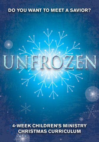 Unfrozen Children's Ministry Christmas Curriculum http://www.childrens-ministry-deals.com/products/unfrozen-4-week-children-s-ministry-christmas-curriculum