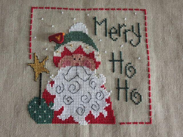 Lizzie Kate Flip It Patterns | Merry Ho Ho - Lizzie Kate